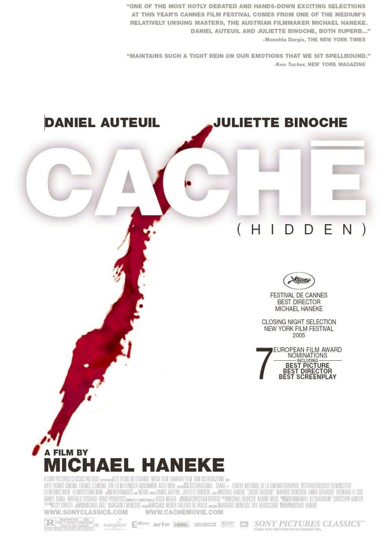 Cache poster
