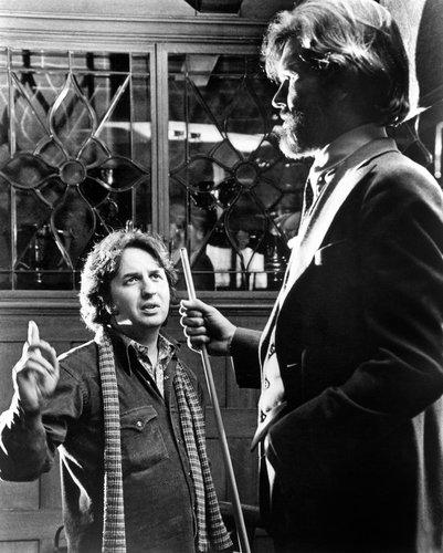 Michael Cimino and Kris Kristofferson