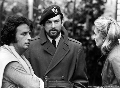 Michael Cimino with De Niro and Streep