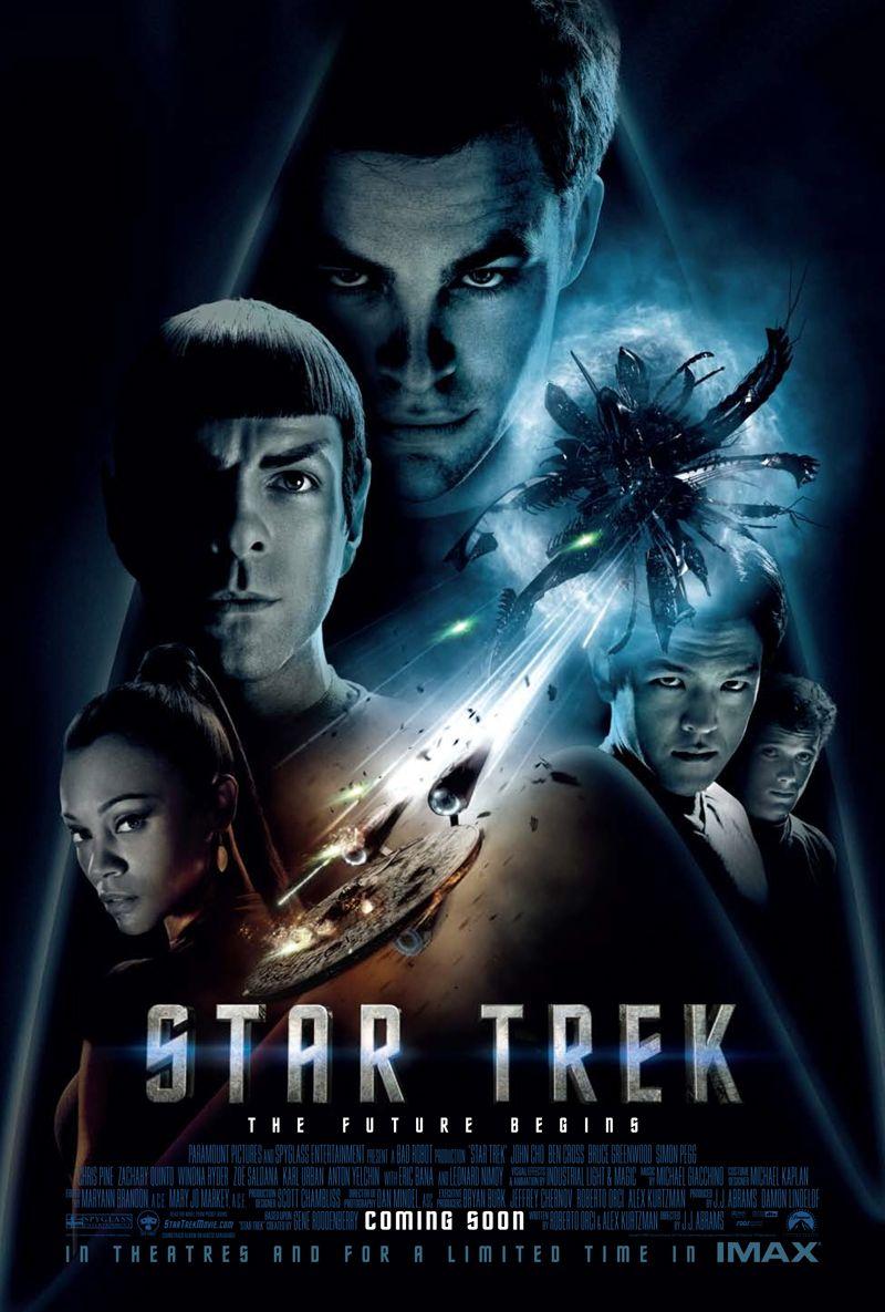 Star Trek 2009 movie poster