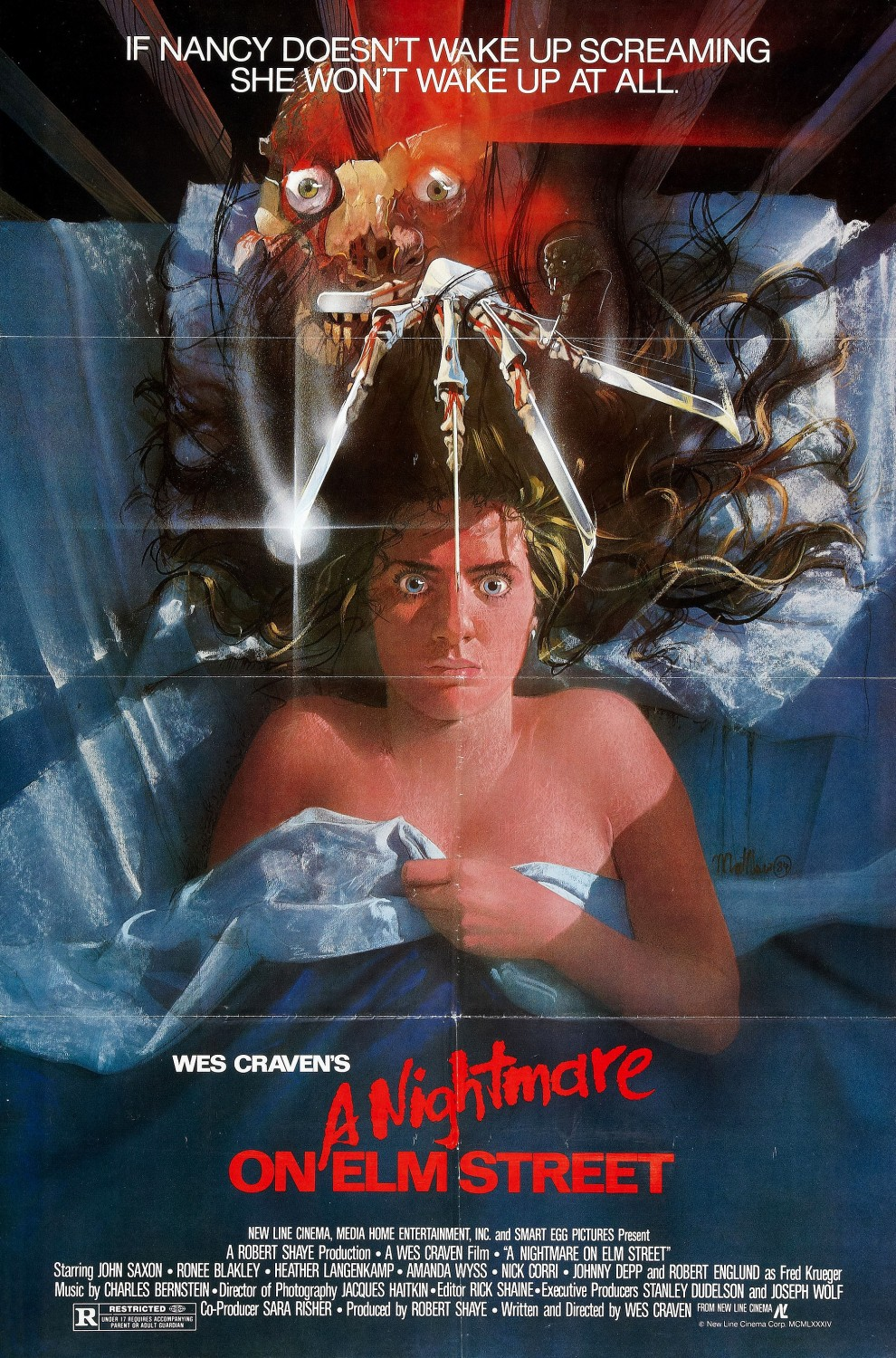 A Nightmare on Elm Street original poster