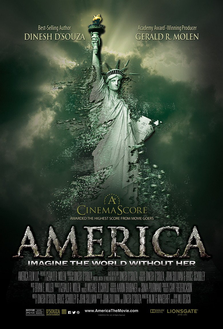 America Imagine the World Without Her poster