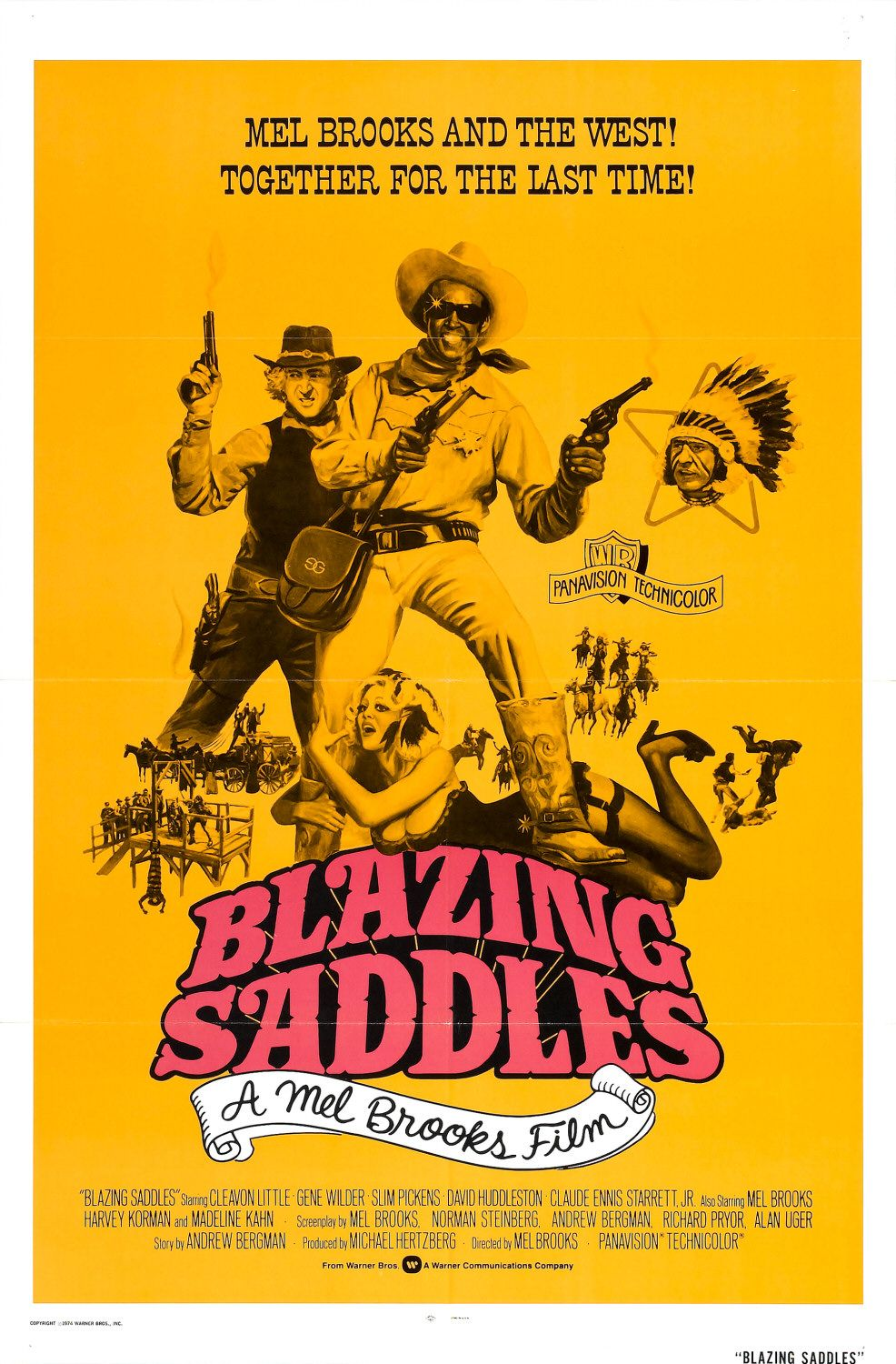 Blazing Saddles poster version 2