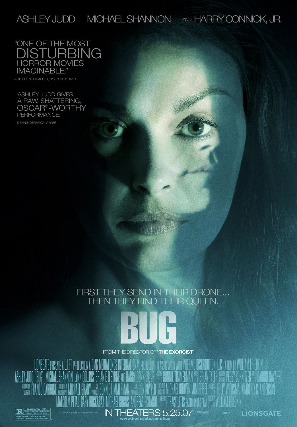 Bug movie poster 2