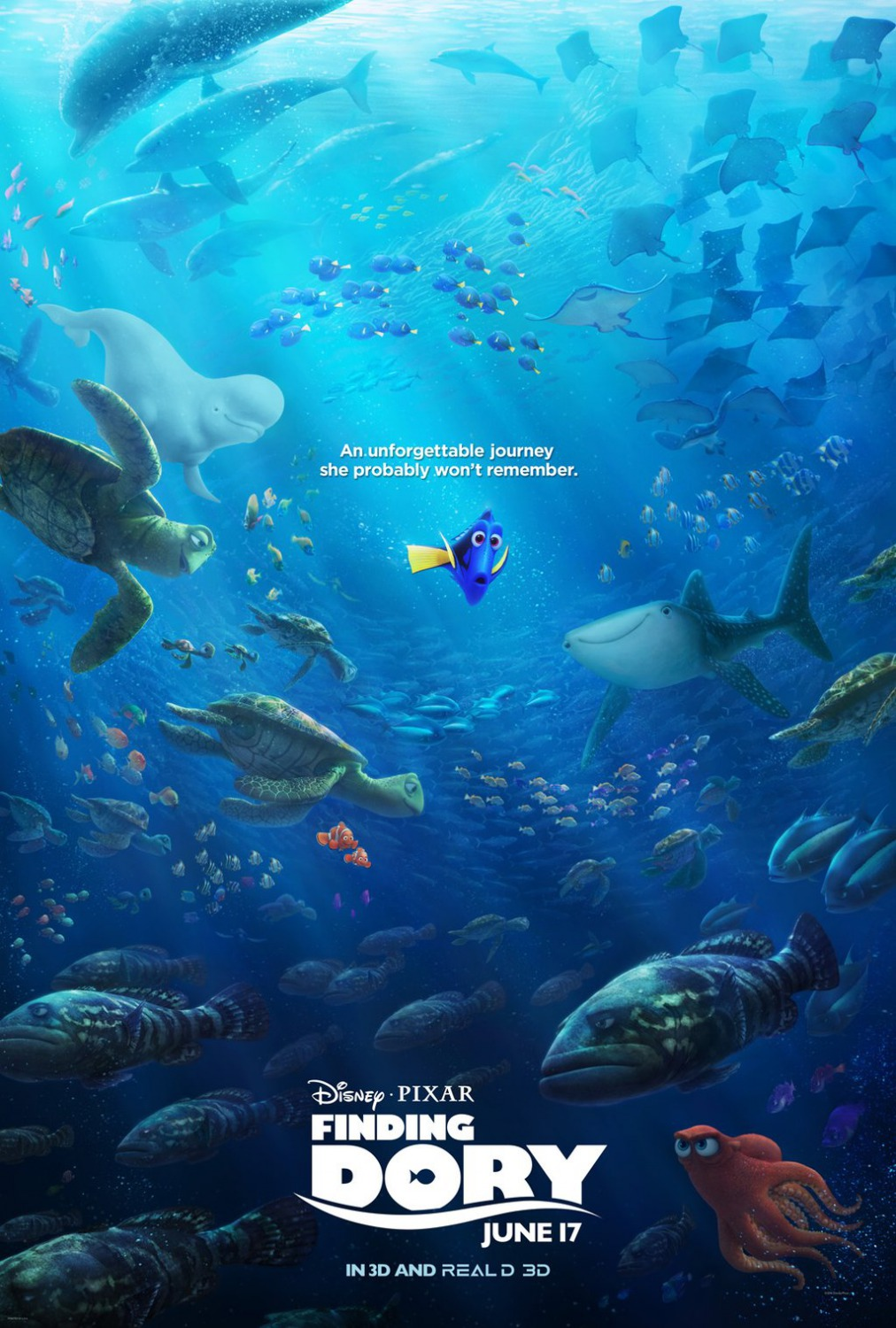 Finding Dory poster 6