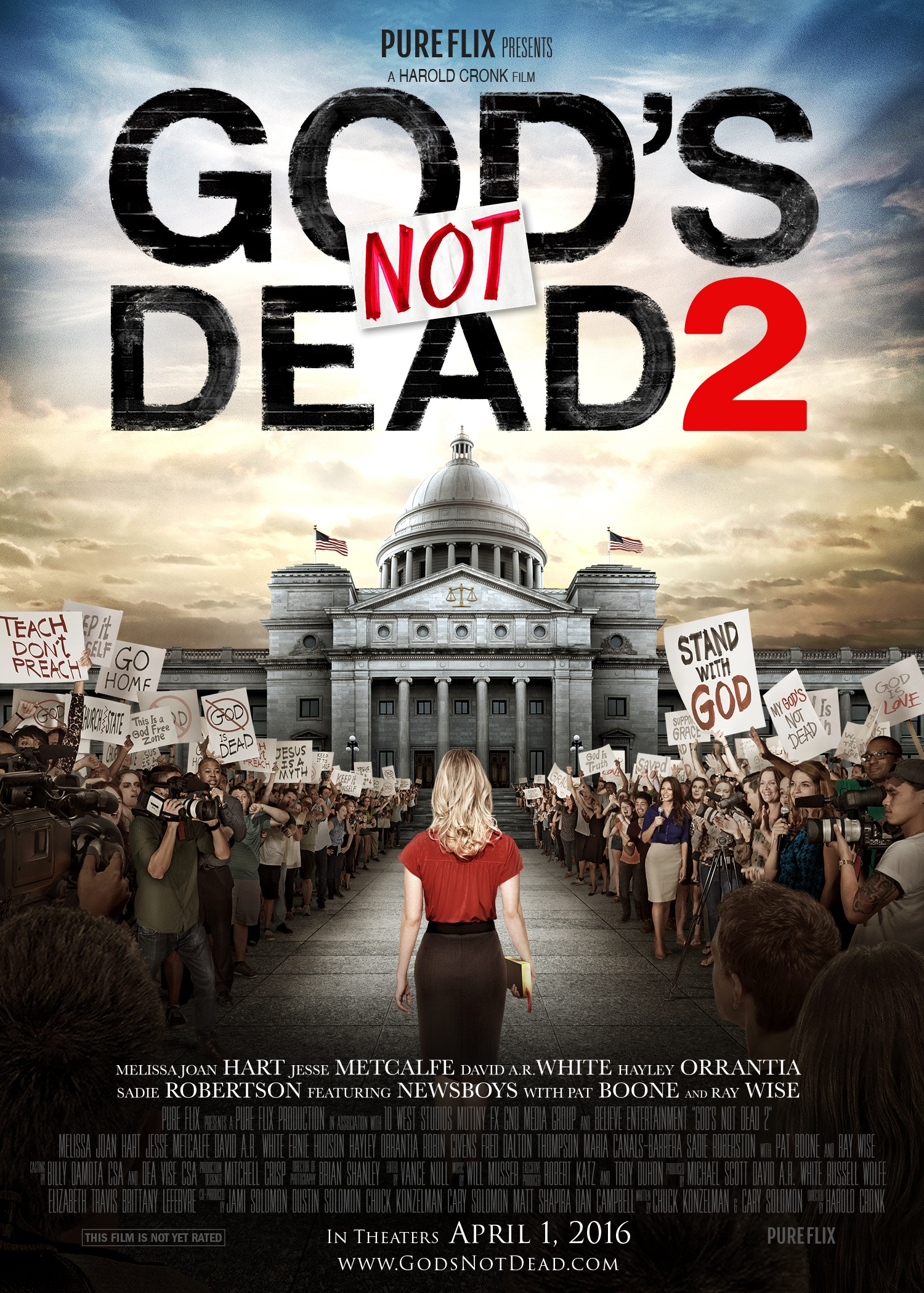 Gods Not Dead 2 movie poster