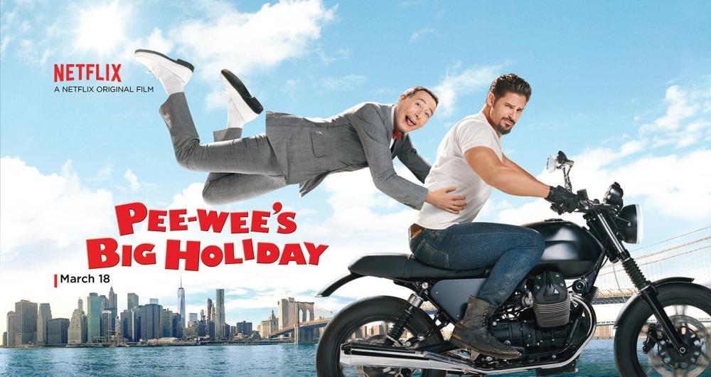 Pee Wee Big Holiday poster