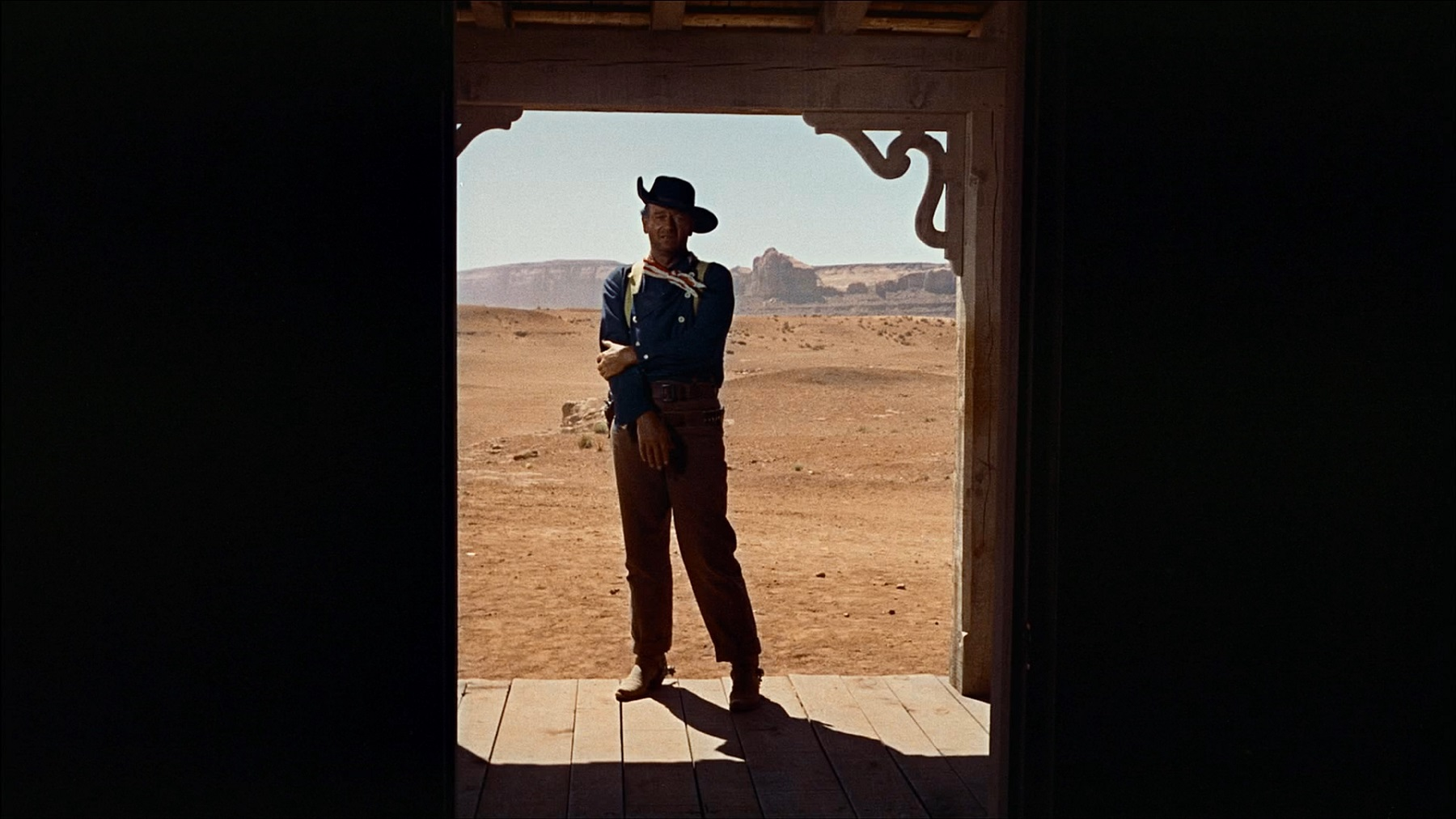 The Searchers doorway