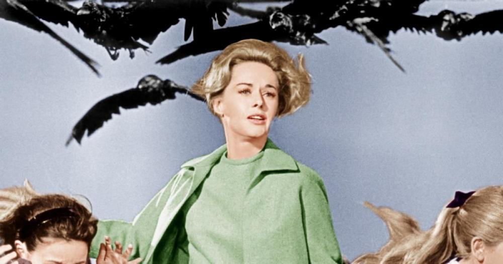 tippi hedren looks back at �the birds� and working with