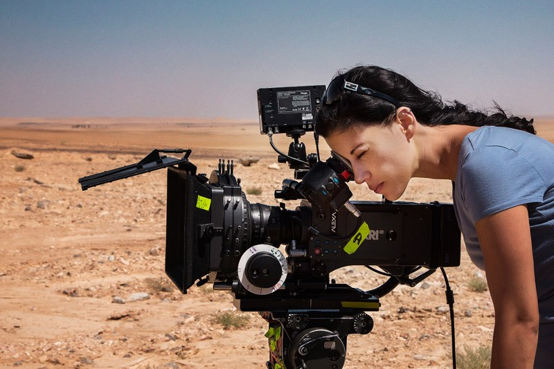 cherien-dabis-on-the-set-of-may-in-the-summer