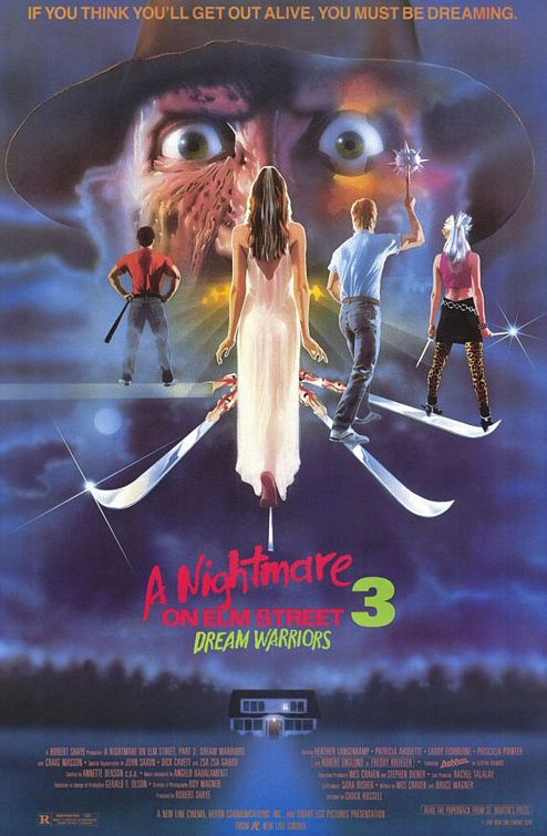A Nightmare on Elm Street 3 Dream Warriors poster