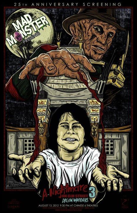 Dream Warriors Mad Monster Poster