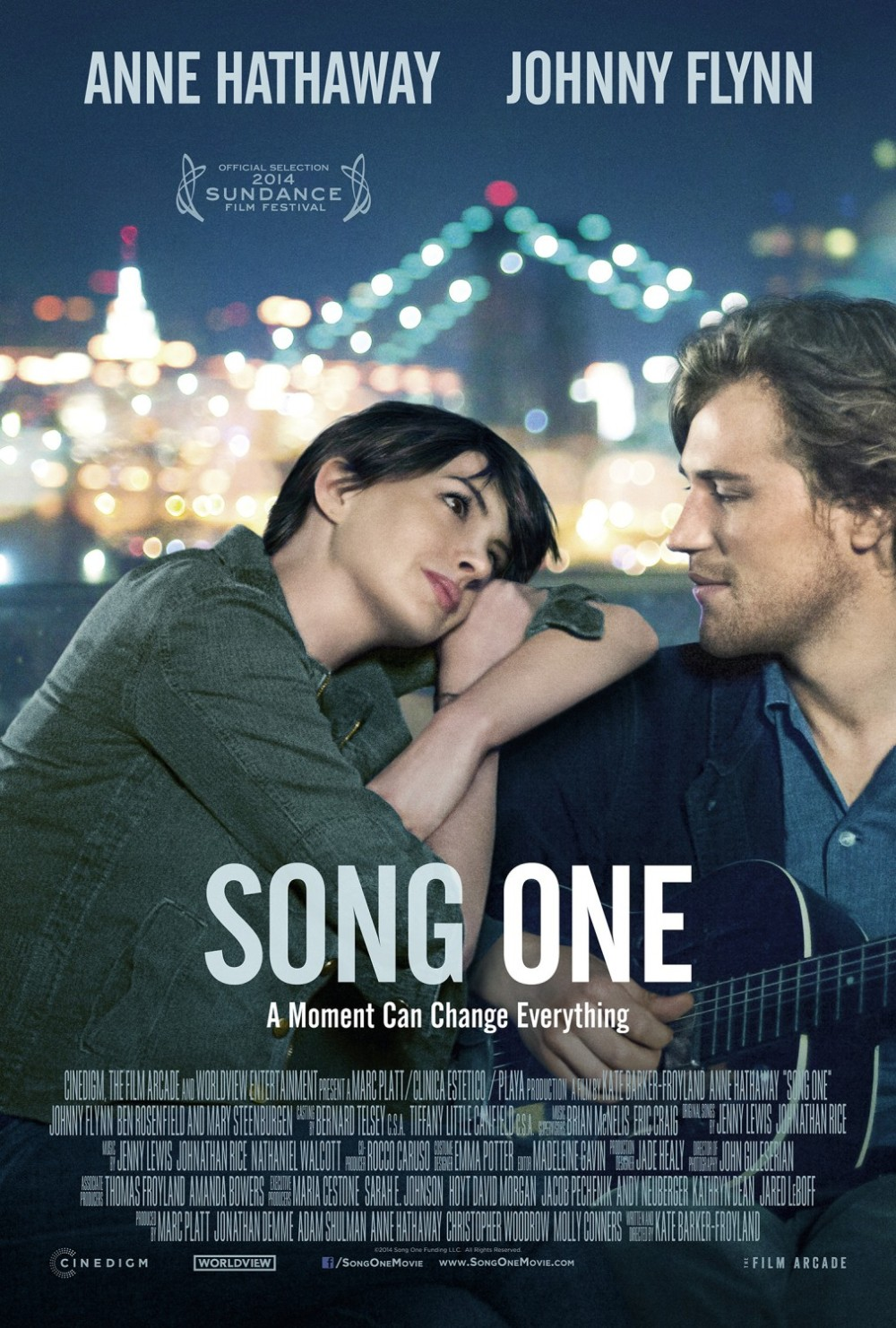 Song One movie poster