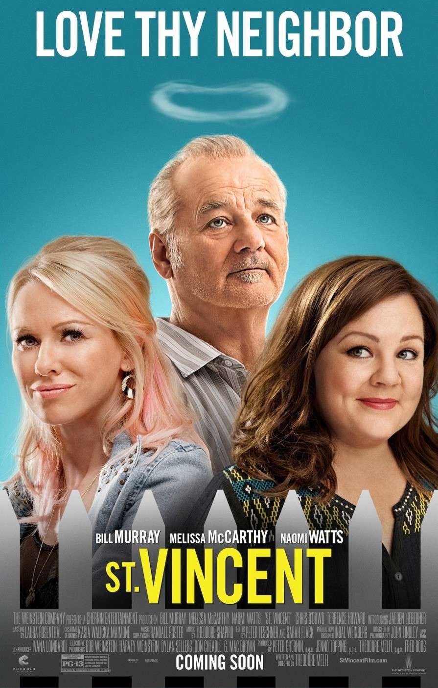 St Vincent movie poster