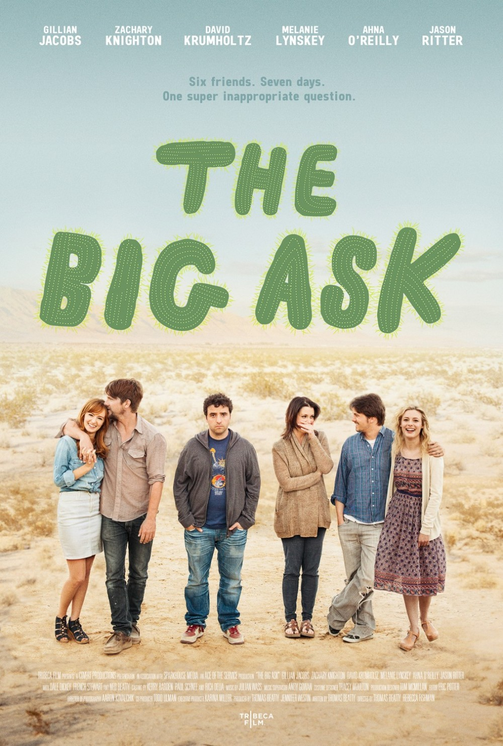 The Big Ask movie poster