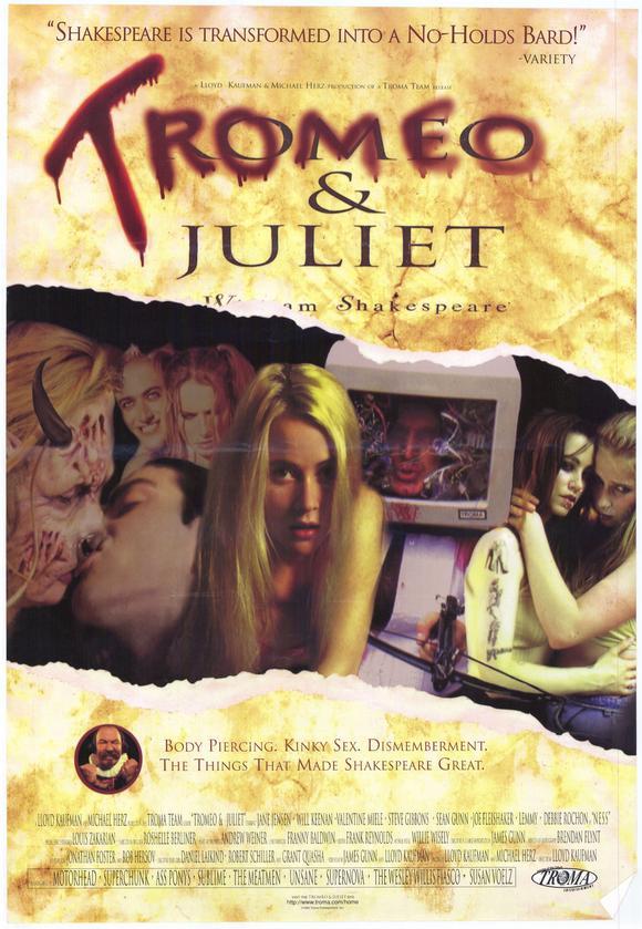 Tromeo and Juliet movie poster