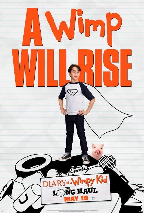 Diary of a Wimpy Kid The Long Haul poster