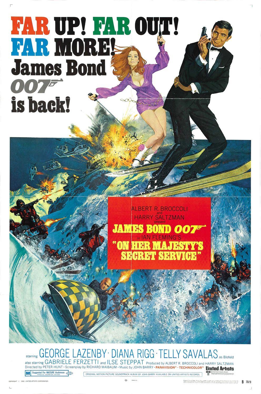 On Her Majestys Secret Service movie poster