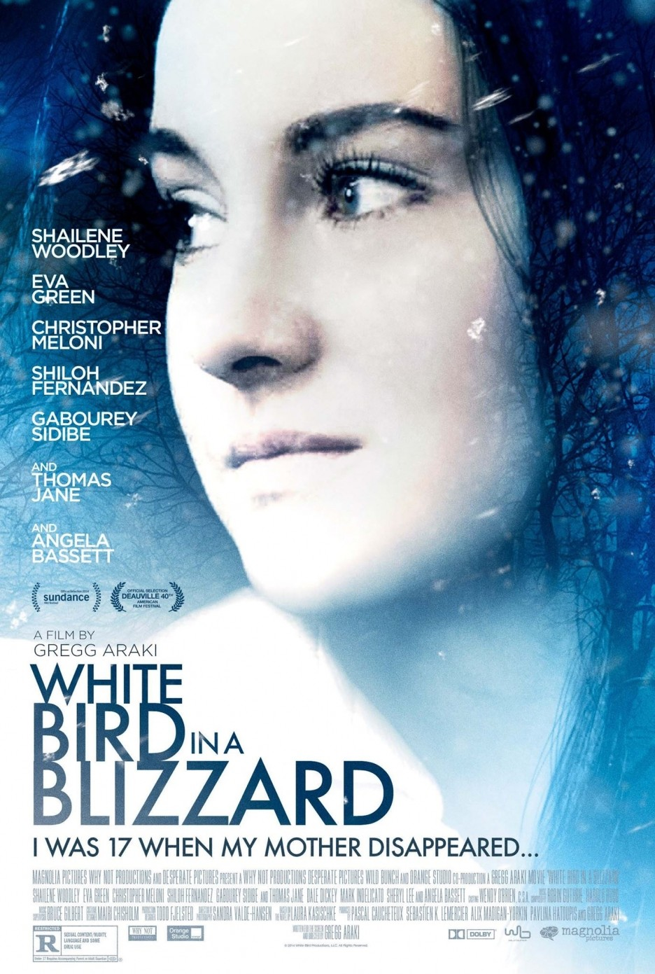 White Bird in a Blizzard movie poster