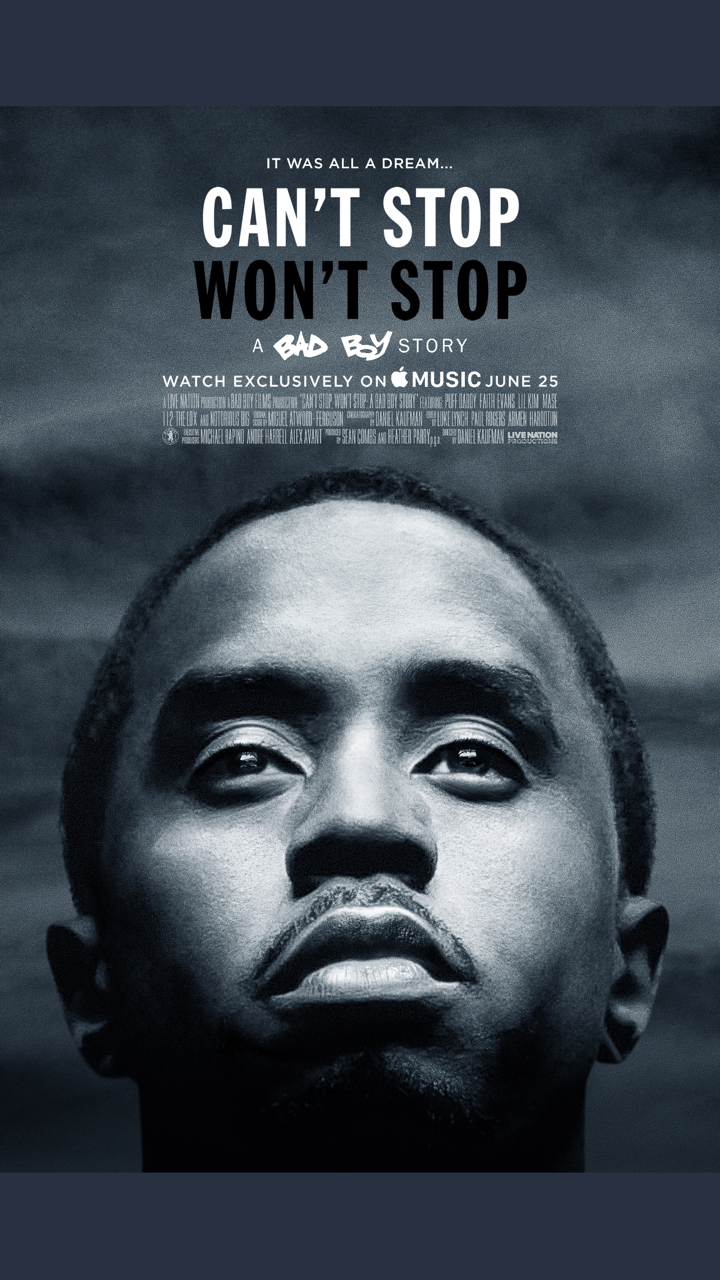 Can't Stop Won't Stop documentary poster