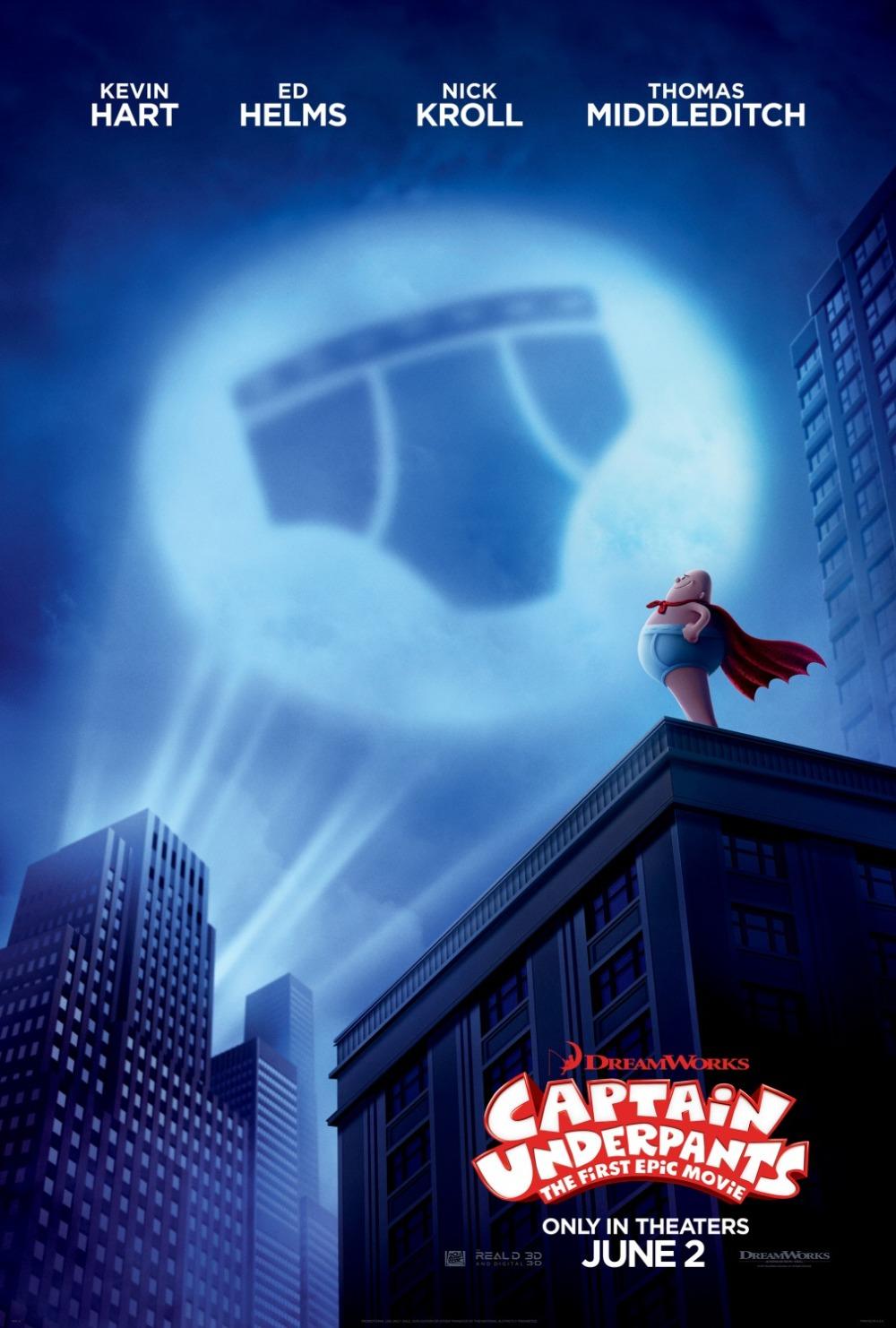 Captain Underpants movie poster