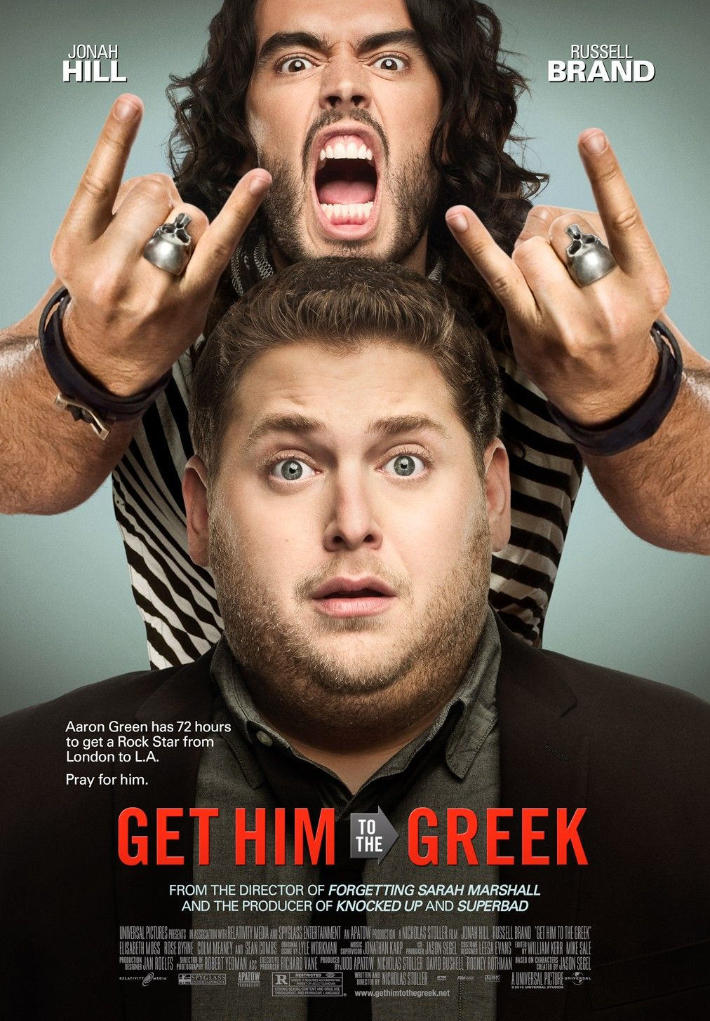 Get Him to the Greek movie poster