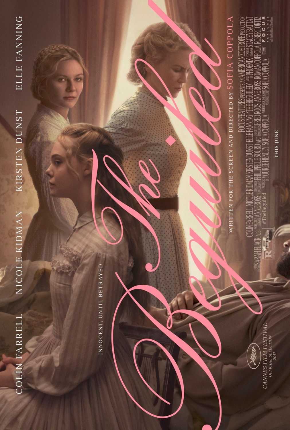 The Beguiled 2017 poster