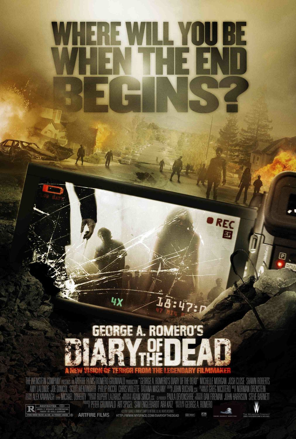 Diary of the Dead movie poster