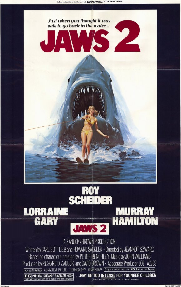 Jaws 2 movie poster