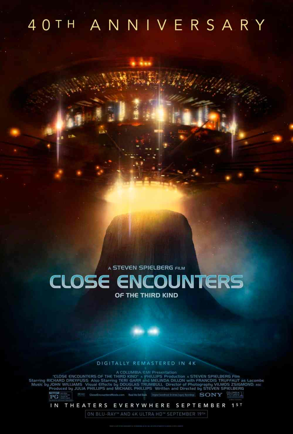 Close Encounters of the Third Kind 40th poster