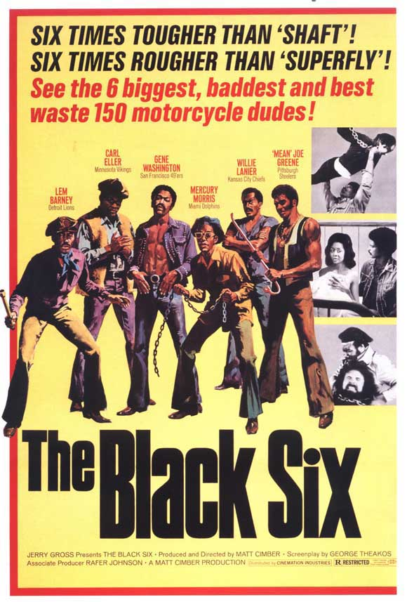 The Black Six movie poster