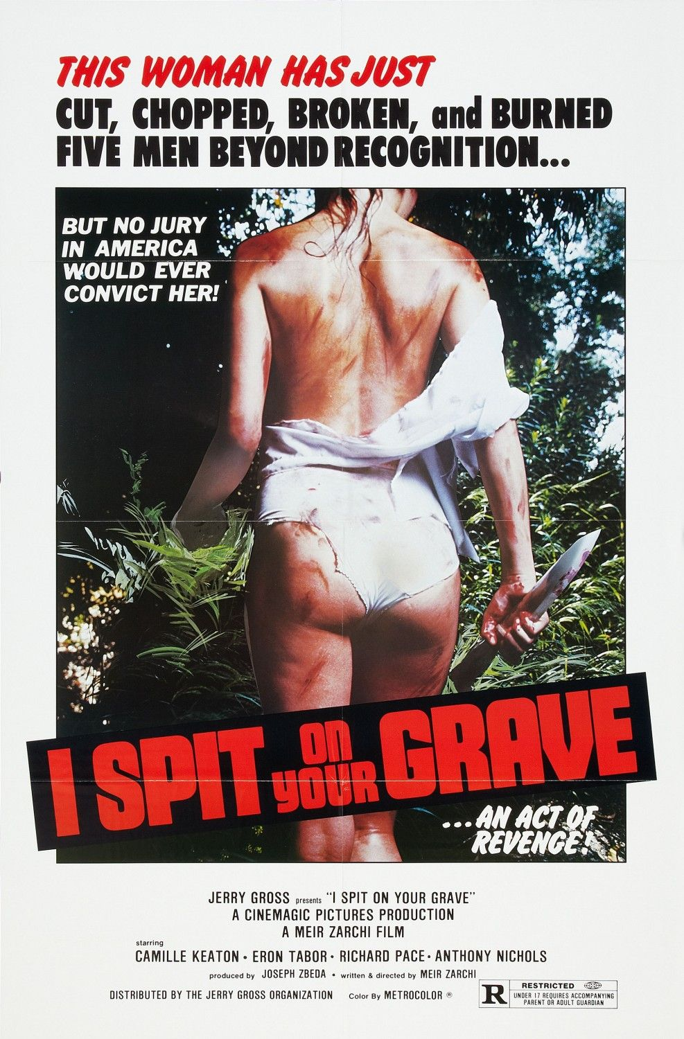I Spit On Your Grave 1978 poster