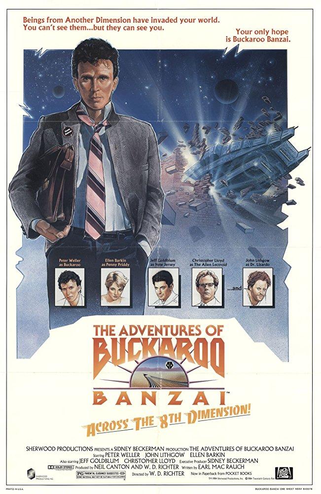 Buckaroo Banzai poster