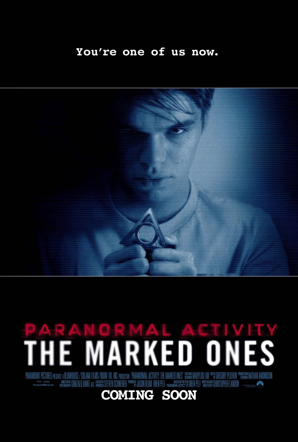 Paranormal Activity The Marked Ones poster