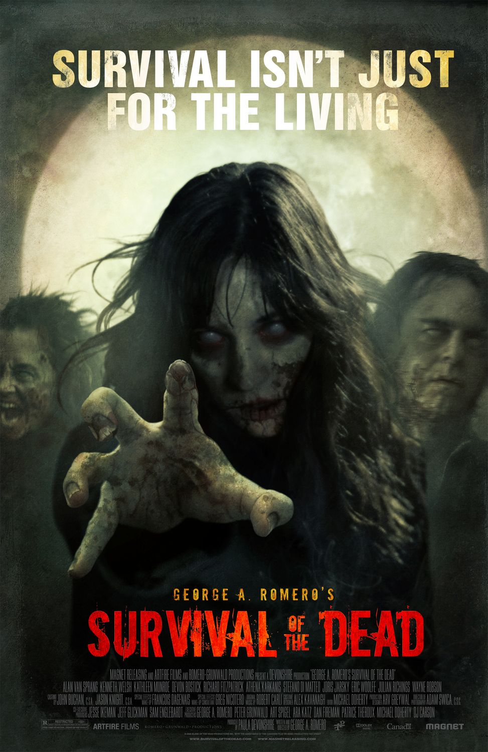 Survival of the Dead movie poster