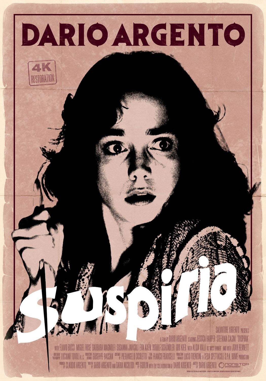Suspiria 4K restoration poster