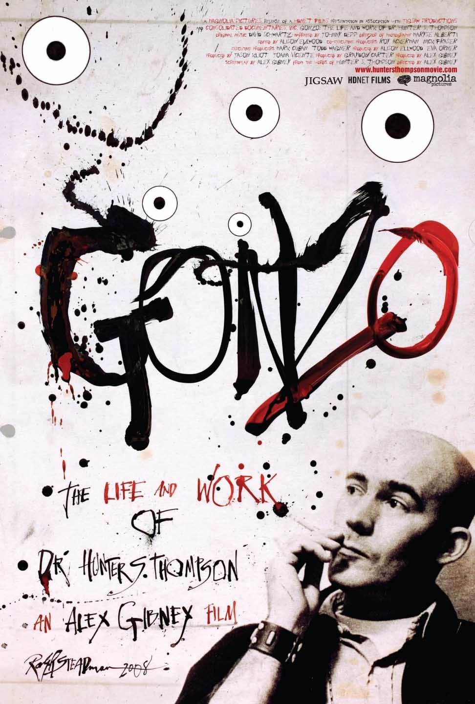 gonzo-the-life-and-work-of-dr-hunter-s-thompson poster