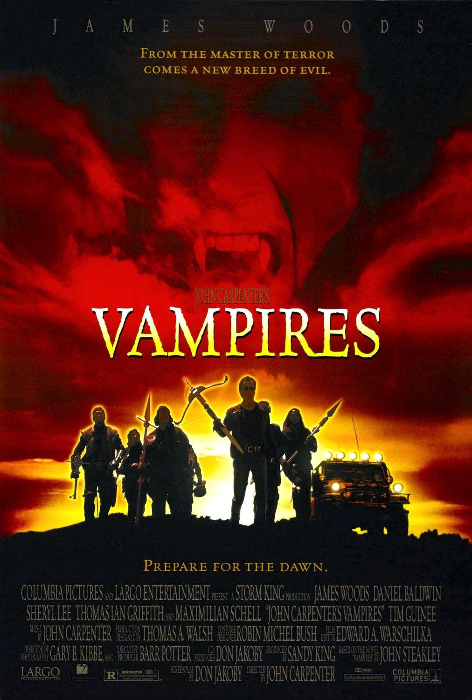 Vampires movie poster