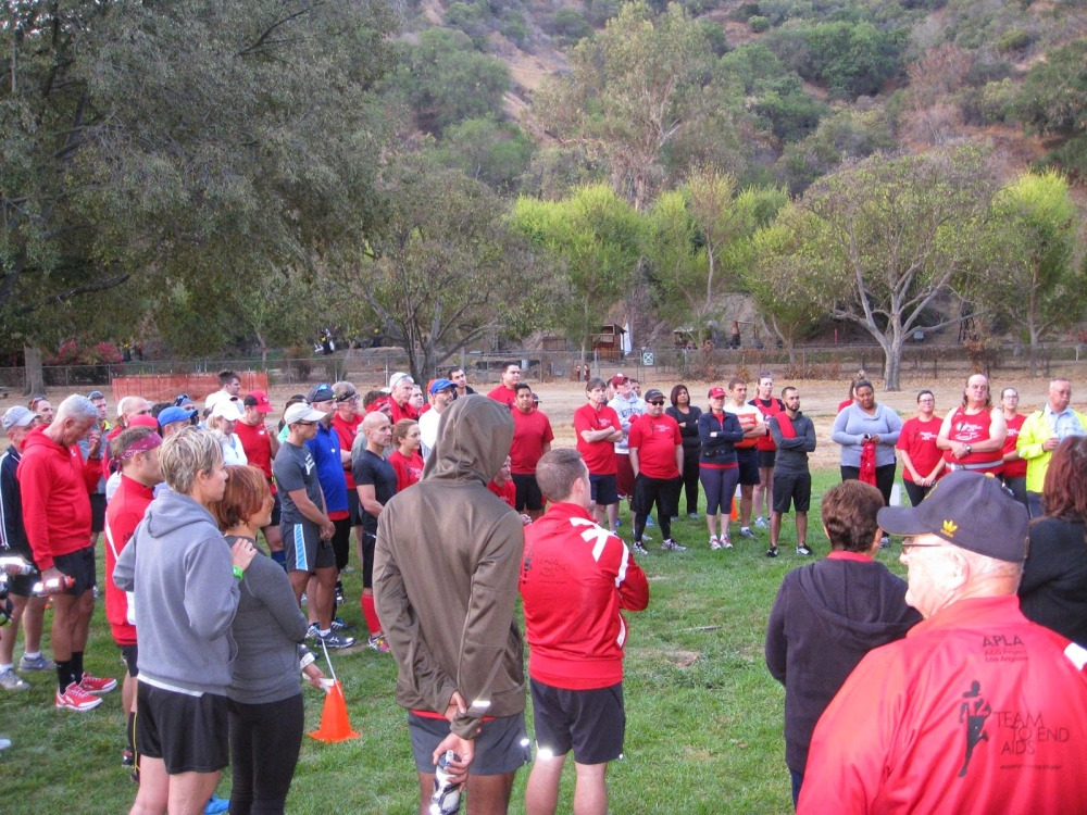 2015 LA Marathon training day one
