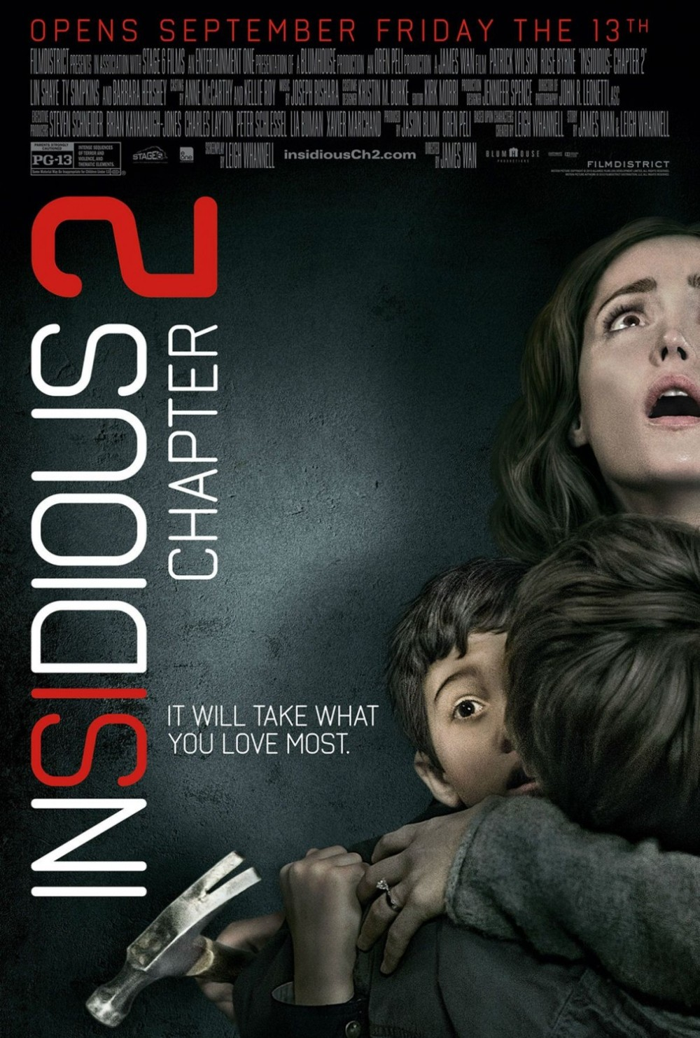 Insidious Chapter 2 poster