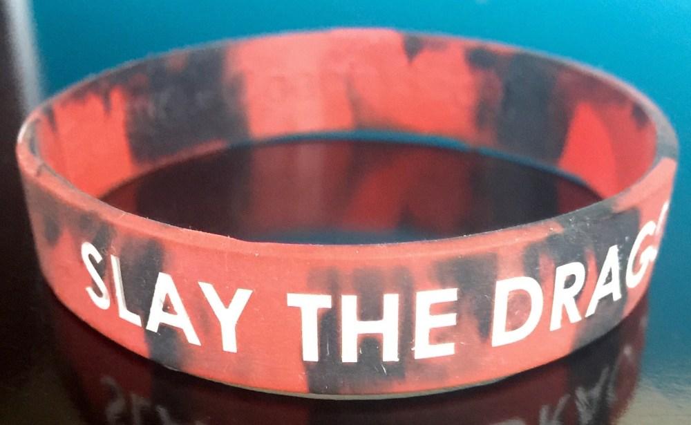 Slay The Dragon armband
