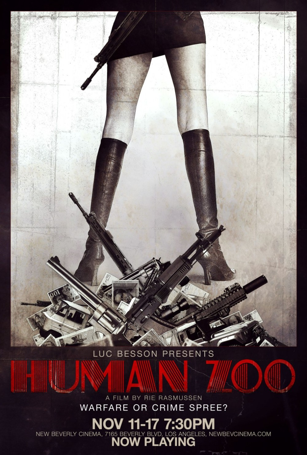 Human Zoo movie poster