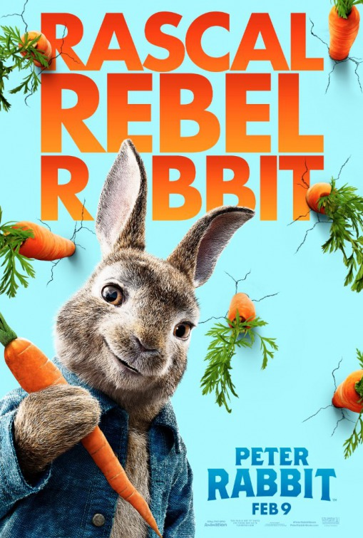 Peter Rabbit 2018 poster