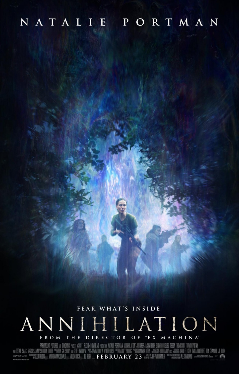 Annihilation movie poster