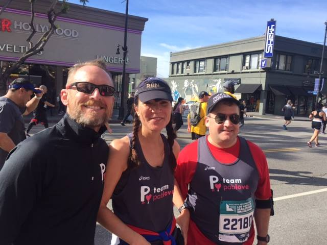 LA Marathon 2018 Kerry Jasmine and Ben
