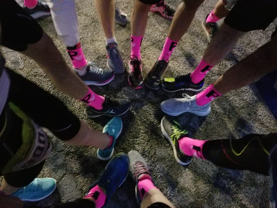 LA Marathon 2018 Pablove socks