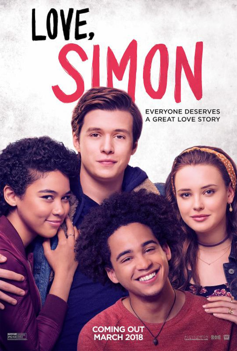 Love Simon movie poster