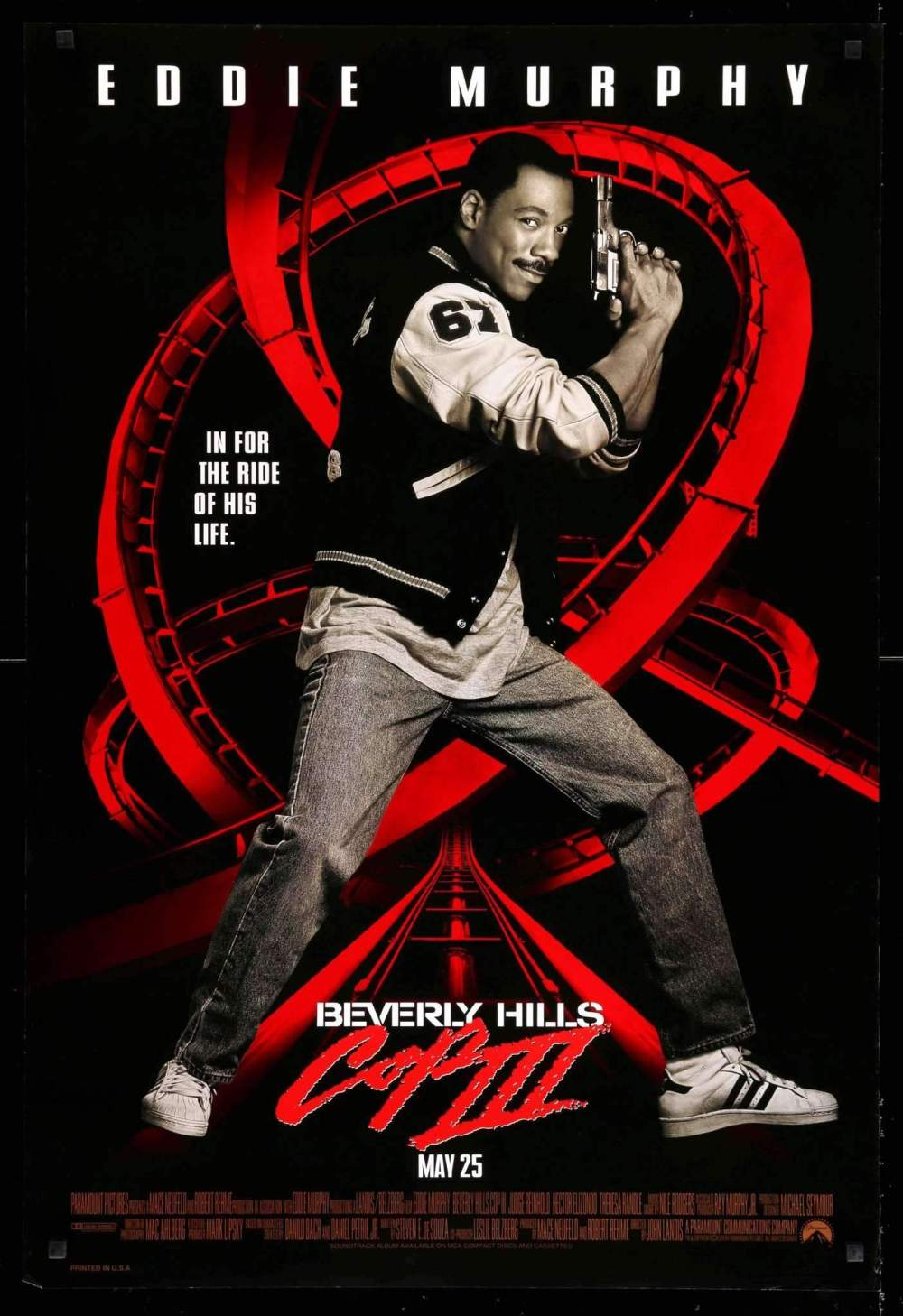 Beverly Hills Cop 3 movie poster