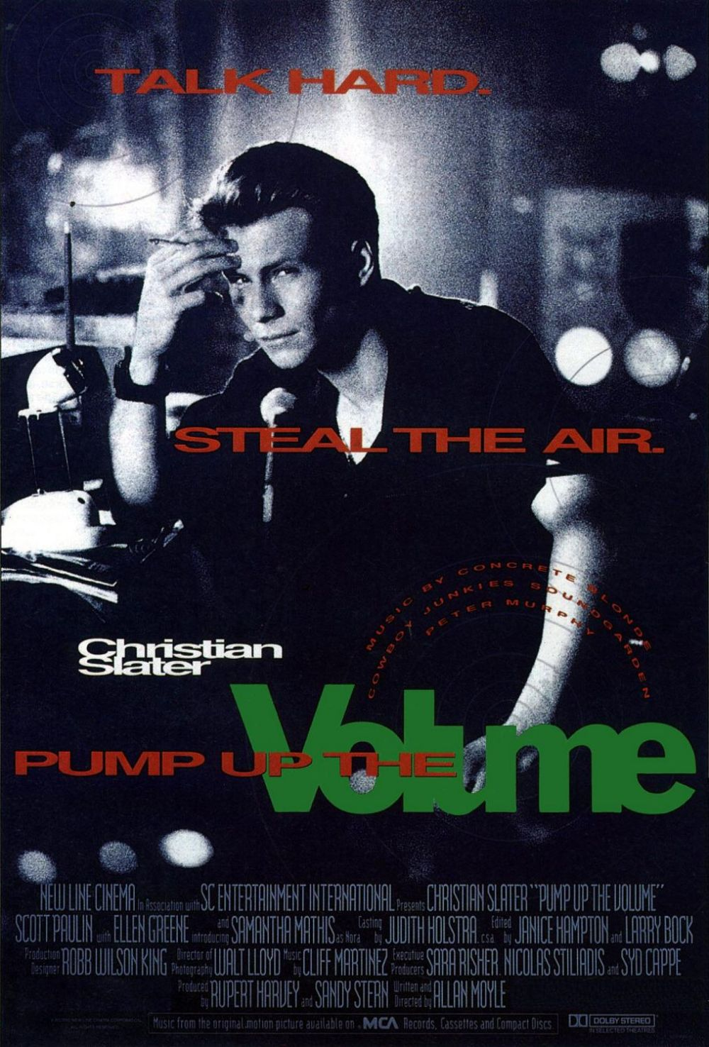 Pump Up The Volume movie poster