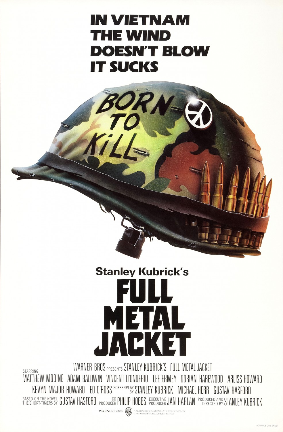 Full Metal Jacket movie poster